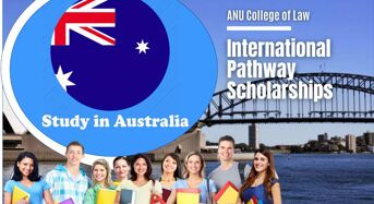 ANU College of Law International Pathway Scholarships in Australia, 2020