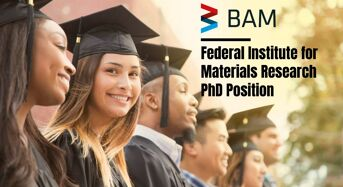 Federal Institute for Materials Research PhD Position in Germany, 2020