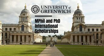 Greenwich Faculty of Liberal Arts & Sciences MPhil and PhD international awards in UK, 2020