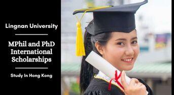 MPhil and PhD international awards at Lingnan University in Hong Kong