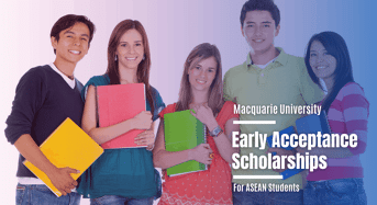 Macquarie University Early Acceptance Scholarships for ASEAN Students in Australia, 2020