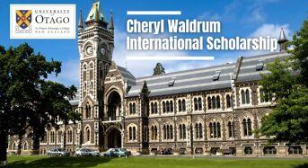 Otago Faculty of Law Cheryl Waldrum International Scholarship in New Zealand, 2021