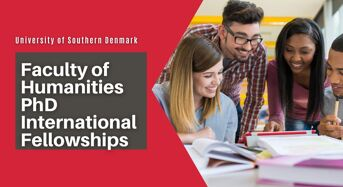 SDU Faculty of Humanities PhD International Fellowships in Denmark, 2020