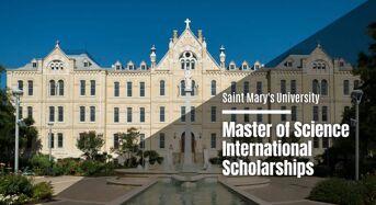 Saint Mary's University Master of Science international awards in Canada, 2020