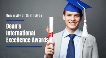 Strathclyde Faculty of Humanities and Social Sciences Dean's International Excellence Awards, UK