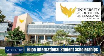 USQ Bupa International Student Scholarships in Australia