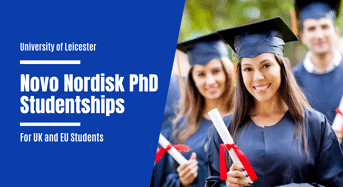 University of Leicester Novo Nordisk PhD Studentships for UK and EU Students, 2020
