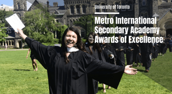 University of Toronto Metro International Secondary Academy Awards of Excellence in Canada, 2020
