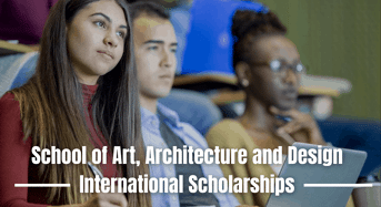 School of Art, Architecture and Design international awards in UK