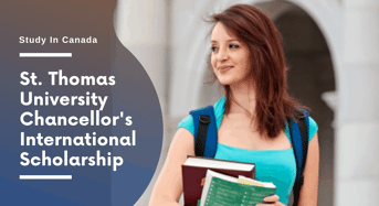 St. Thomas University Chancellor's International Scholarship in Canada