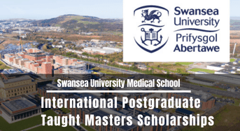 Swansea University Medical School International Postgraduate Taught masters programmes in UK