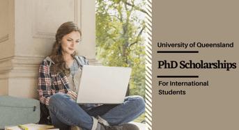 UQ International PhD Positionsin Applied Molecular Science, Australia