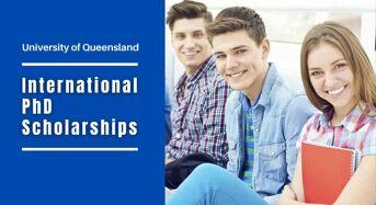 UQ International PhD Positionsin Automation of Cyber Software Security, Australia