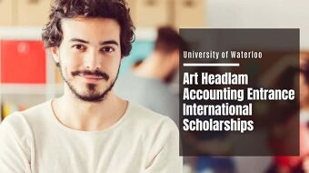 University of Waterloo Art Headlam Accounting Entrance international awards in Canada, 2021