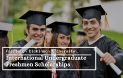 FDU International Undergraduate Freshmen Scholarships, USA