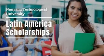 Nanyang Technological University Latin America Scholarships, Singapore