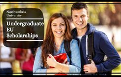 Northumbria Undergraduate EU Scholarships, UK