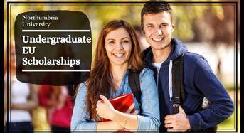 Northumbria Undergraduate EU Scholarships, UK
