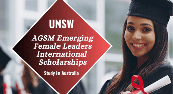 AGSM Emerging Female Leaders international awards in Australia