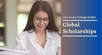 Global Scholarships at University College Dublin, Ireland