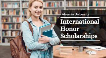 International Honor Scholarships at Alvernia University, USA