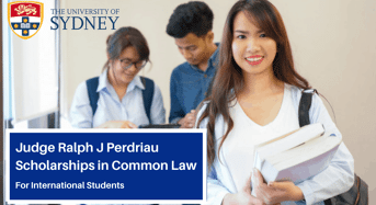 Judge Ralph J Perdriau international awards in Common Law Australia