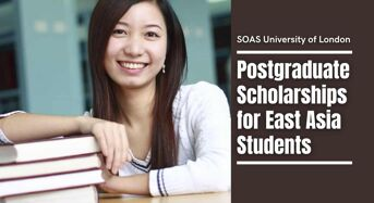 SOAS University of London postgraduate placements for East Asia Students, UK