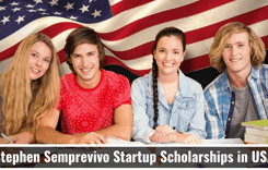 Stephen Semprevivo Startup Scholarships in USA