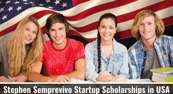 Stephen Semprevivo Startup Scholarships in USA