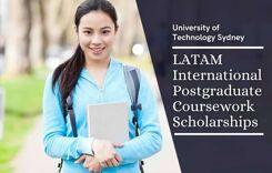 UTS LATAM International Postgraduate Coursework Scholarships, Australia