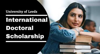 University of Leeds Politics of Global Challenges International Doctoral Scholarship, UK