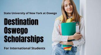 Destination Oswego Scholarships for International Students in USA