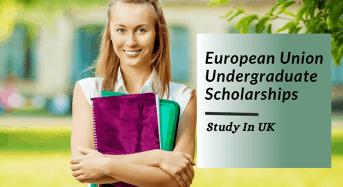 European Union undergraduate financial aid in UK