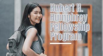 Hubert H. Humphrey Fellowship Programme for Developing Countries Students in Uganda
