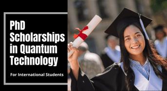 International PhD Positionsin Quantum Technology at Sydney Quantum Academy, Australia