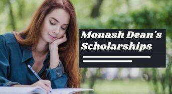 Monash Dean's Scholarships in Australia
