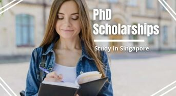 PhD Positionsat National University of Singapore, 2021