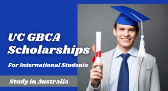 UC GBCA Scholarshipsfor International Students in Australia