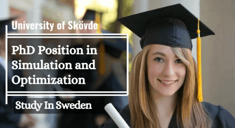 University of Sk övde PhD Position in Simulation and Optimization, Sweden