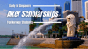 Aker Scholarships for Norway Students at Yale- NUS College, Singapore