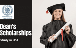 Dean's Scholarships for International Students at University of New Haven, USA