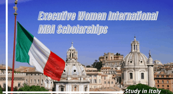Executive Women International MBA Scholarships at Rome Business School, Italy