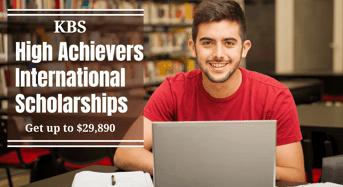 KBS High Achievers international awards in Australia