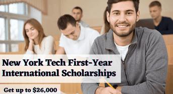 New York Tech First-Yearinternational awards in the USA