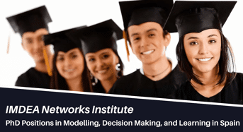 PhD Positions in Modelling, Decision Making, and Learning in Spain