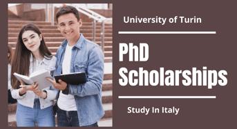 PhD Positionsat University of Turin, Italy