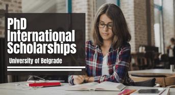 PhD international awards at University of Belgrade, Serbia