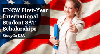 UNCW First-YearInternational Student SAT Scholarships in USA