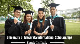 University of Macerata international awards in Italy