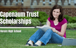 Capenaum Trust Scholarships at Harare High School, Zimbabwe